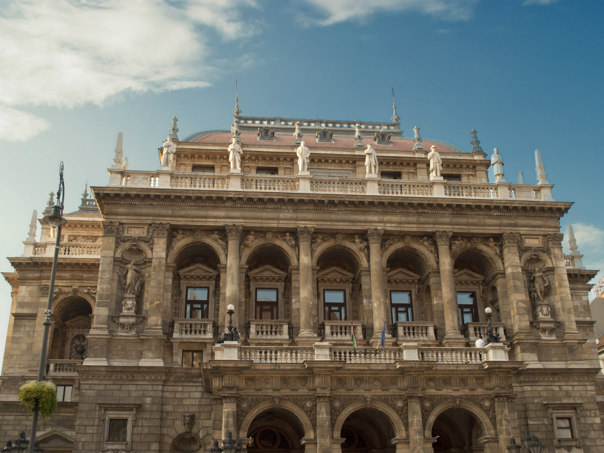 Hungarian Opera House Budapest